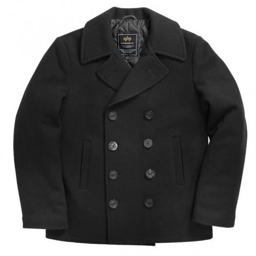 USN Pea Coat (Black)