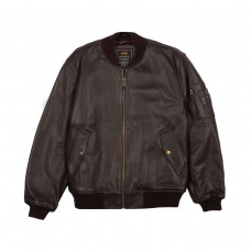 MA-1 Leather (Brown)